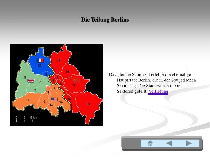 Die Teilung Berlins