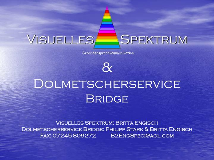 Visuelles        Spektrum