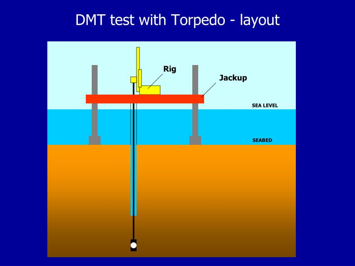 DMT test with Torpedo - layout