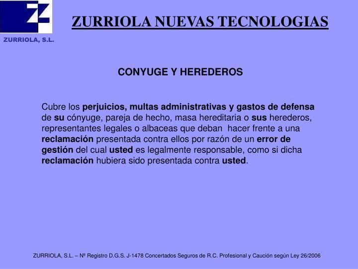 ZURRIOLA NUEVAS TECNOLOGIAS