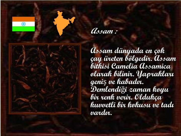 Assam :