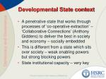 developmental state context