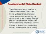 developmental state context1
