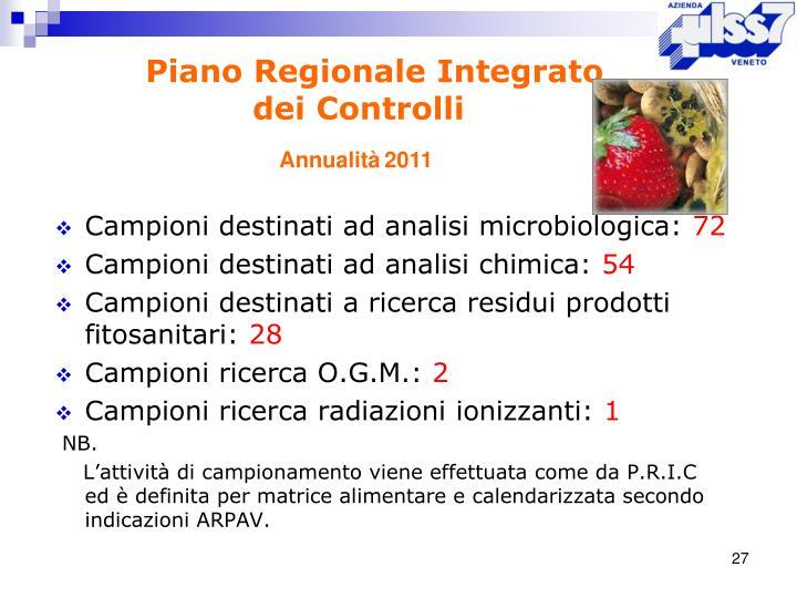 Piano Regionale Integrato