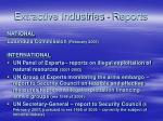 extractive industries reports
