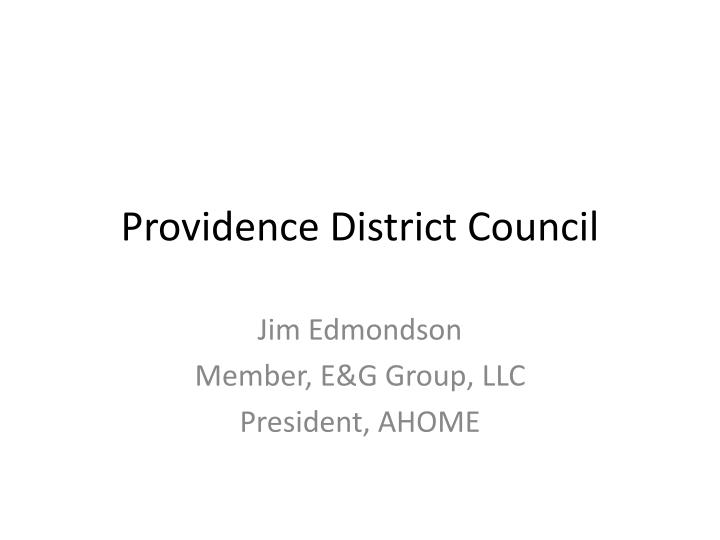 Providence district council