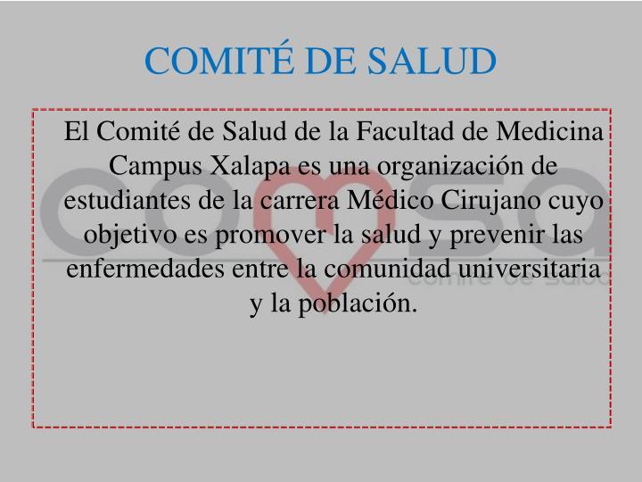 COMITÉ DE SALUD
