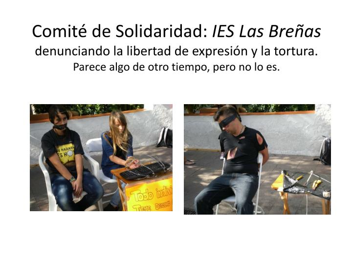 Comité de Solidaridad: