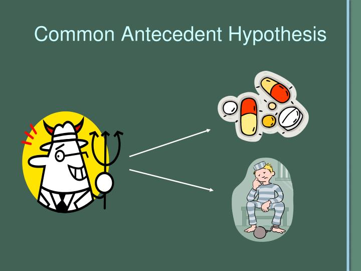 Common Antecedent Hypothesis