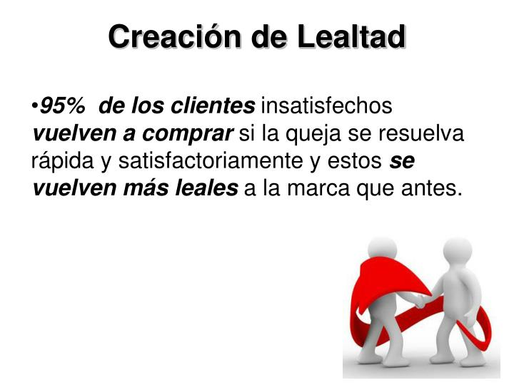 Creación de Lealtad