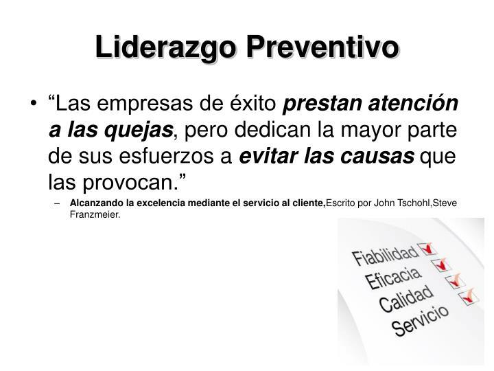 Liderazgo Preventivo
