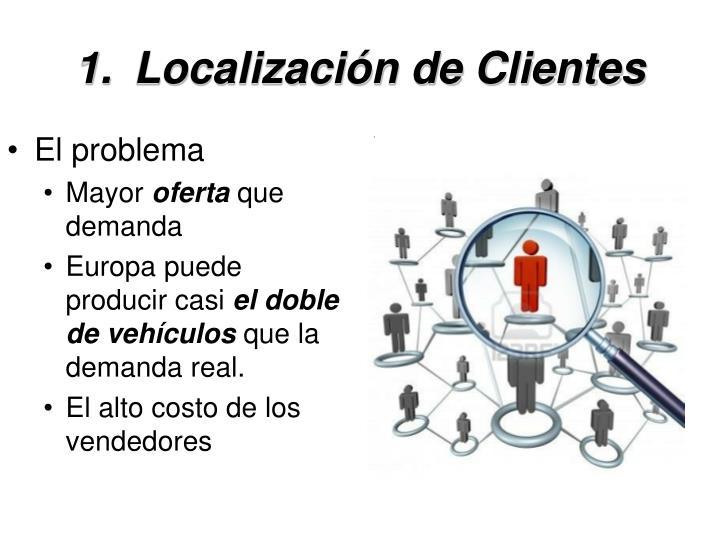 Localización de Clientes