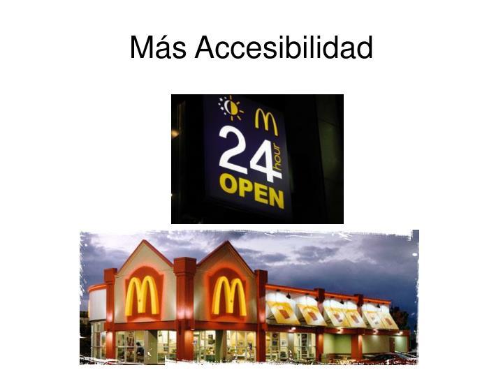 Más Accesibilidad
