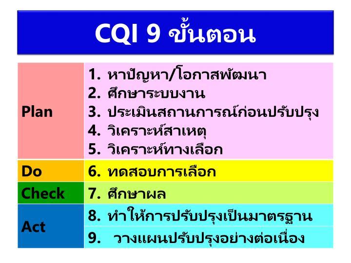 CQI 9