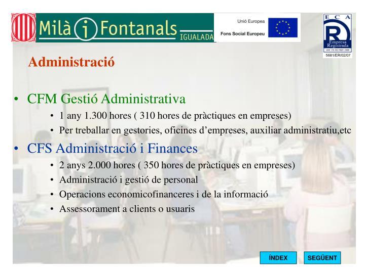 Administració