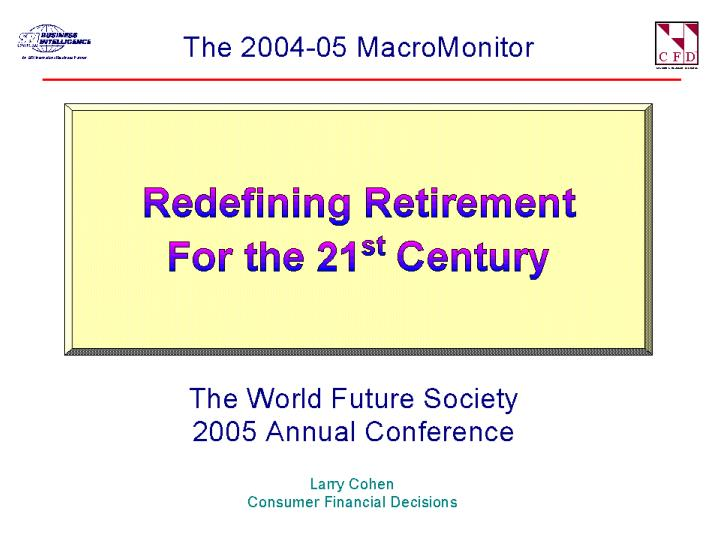 Redefiningretirement2005 07