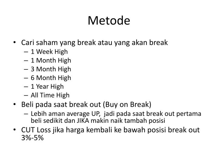 Metode