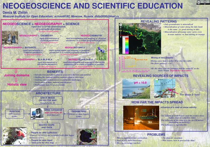 NEOGEOSCIENCE AND SCIENTIFIC EDUCATION
