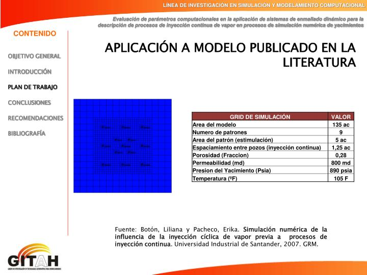 LÍNEA DE INVESTIGACIÓN EN SIMULACIÓN Y MODELAMIENTO COMPUTACIONAL