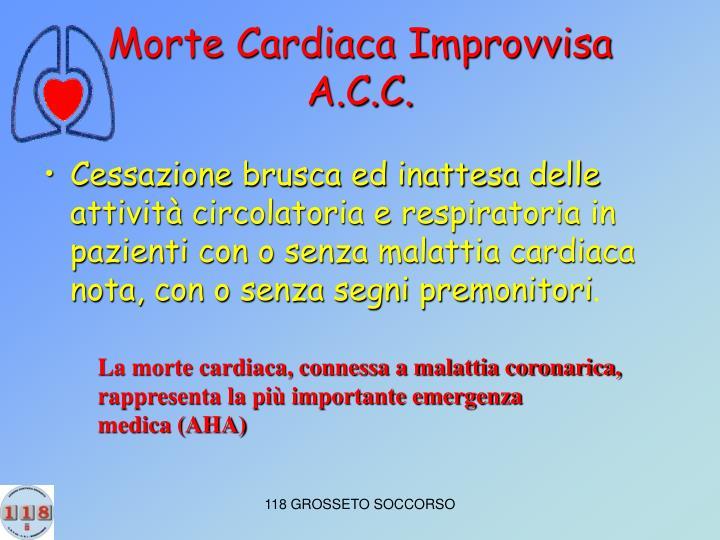 Morte Cardiaca Improvvisa