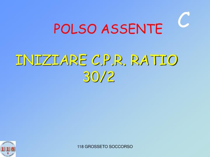 POLSO ASSENTE