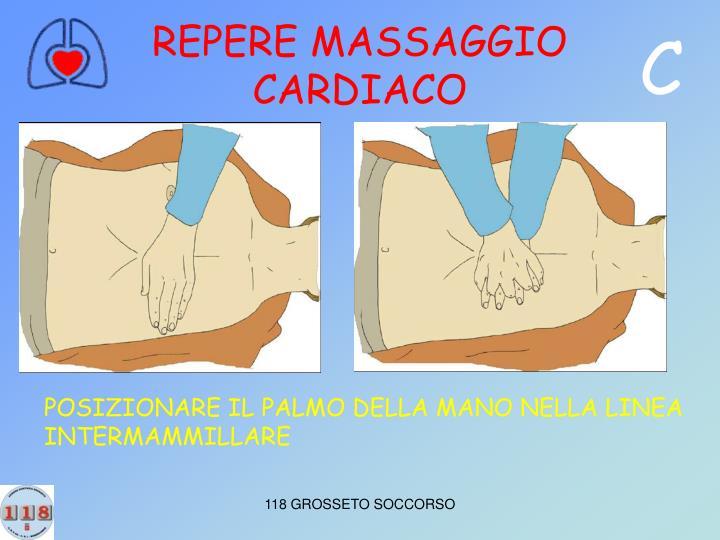 REPERE MASSAGGIO CARDIACO