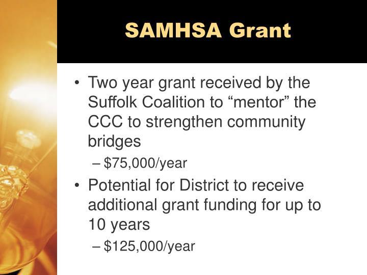 SAMHSA Grant