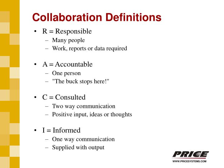 Collaboration Definitions