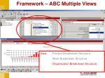 framework abc multiple views1