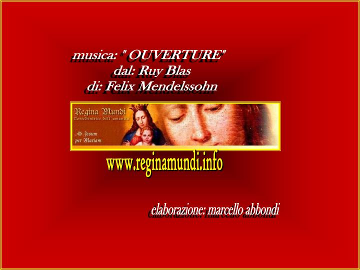"musica: "" OUVERTURE"""