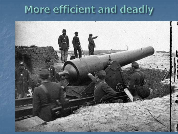 More efficient and deadly
