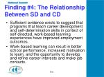 finding 4 the relationship between sd and cd
