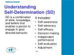 understanding self determination sd
