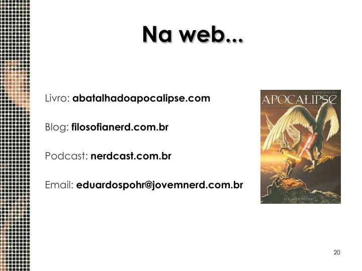 Na web...