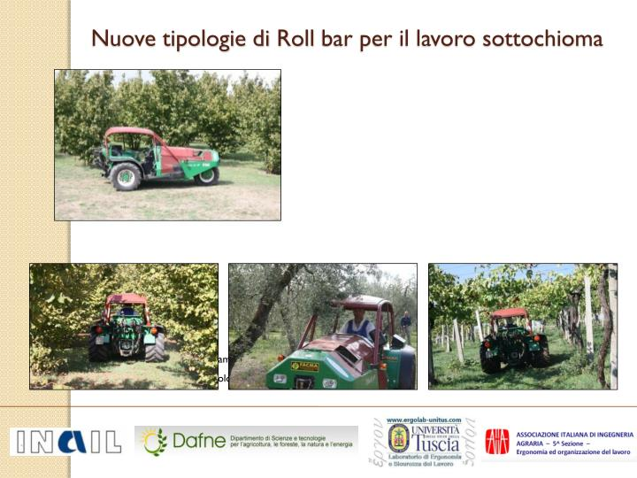 Nuove tipologie di