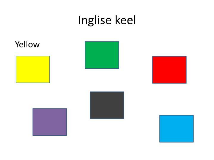 Inglise keel