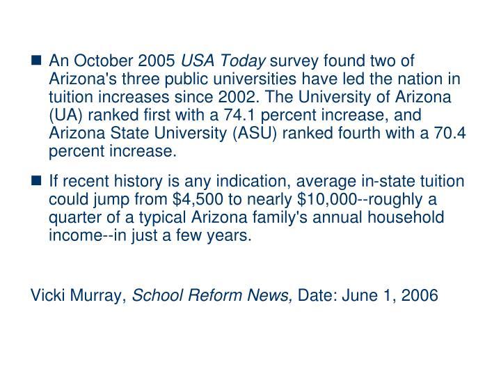 An October 2005