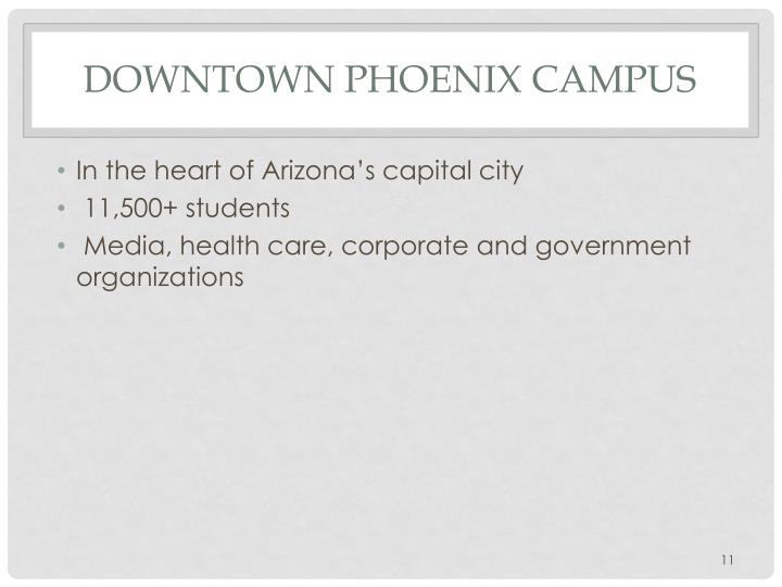 Downtown Phoenix Campus
