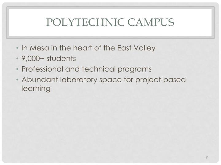 Polytechnic Campus