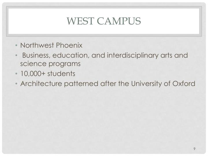West Campus