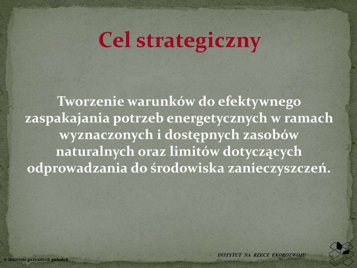 Cel strategiczny