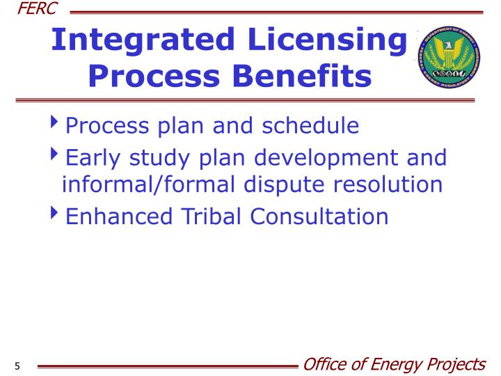 Integrated Licensing