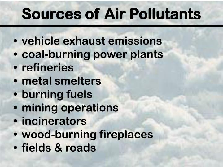 vehicle exhaust emissions