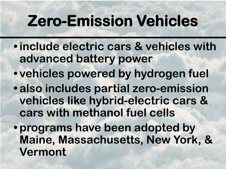include electric cars & vehicles with advanced battery power