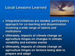 local lessons learned1