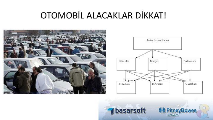 OTOMOBİL ALACAKLAR DİKKAT!