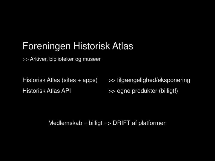 Foreningen Historisk Atlas