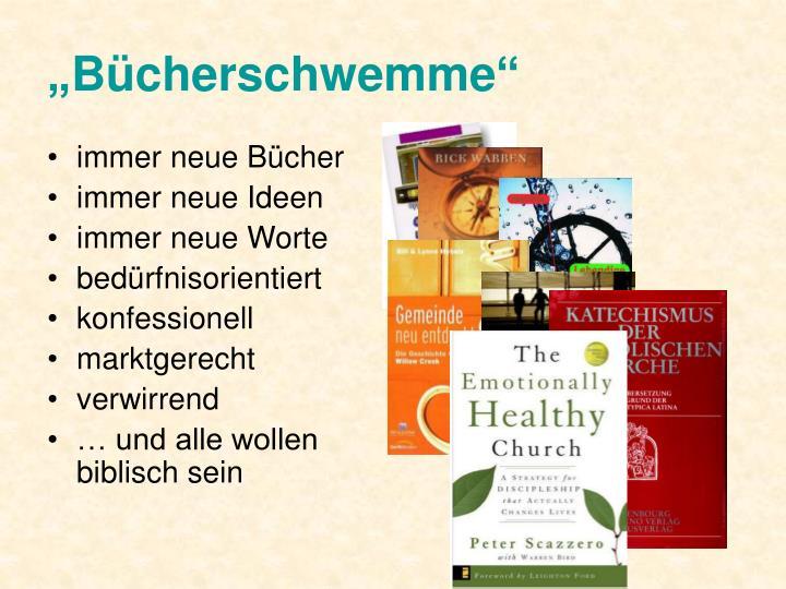 """""""Bücherschwemme"""""""