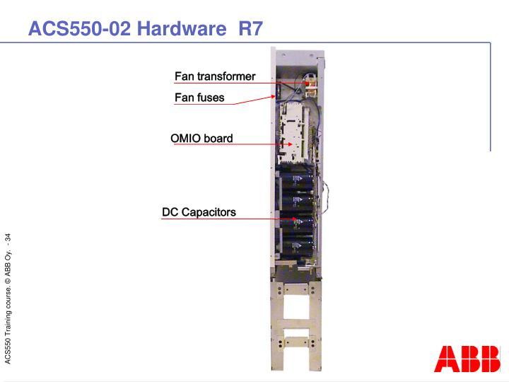ACS550-02 Hardware  R7