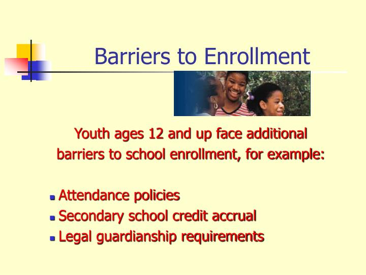 Youth ages 12 and up face additional